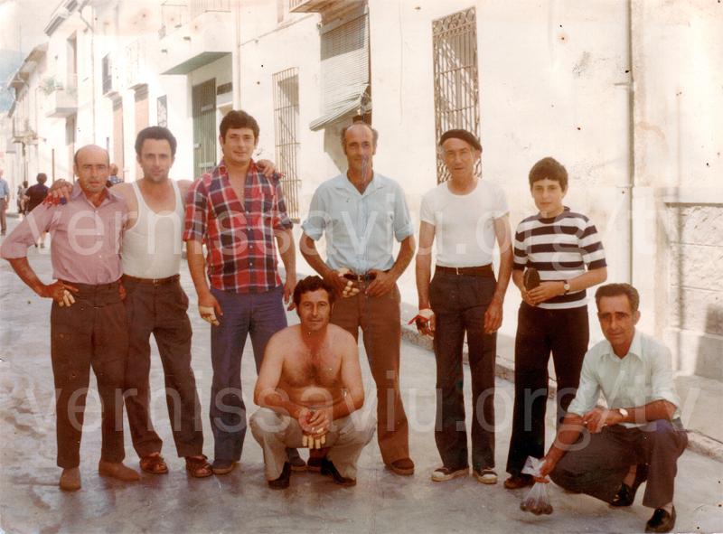 Abans de la partida de pilota (Almiserà, 1978)
